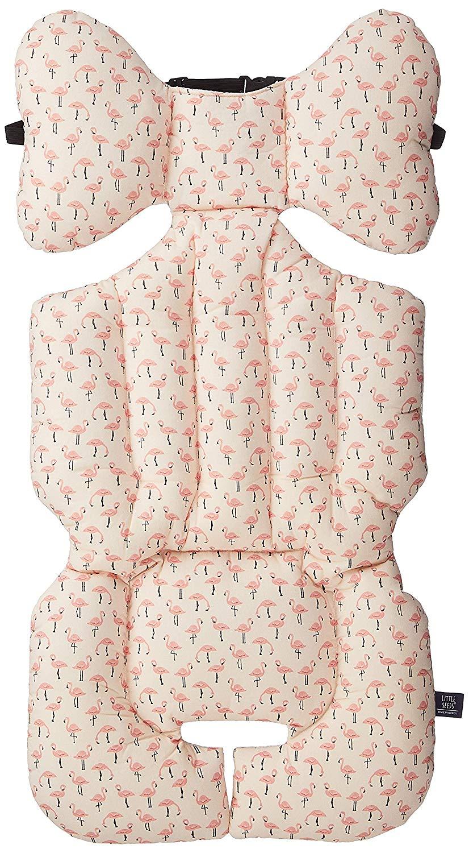 LITTLE SEEDS(リトルシード) ベビーカーシート flamingo 2か月~