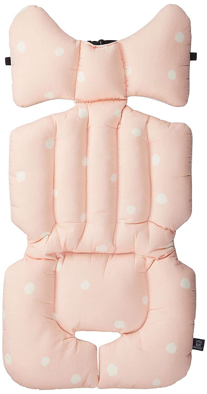 LITTLE SEEDS(リトルシード) ベビーカーシート polka dot (pink) 2か月~