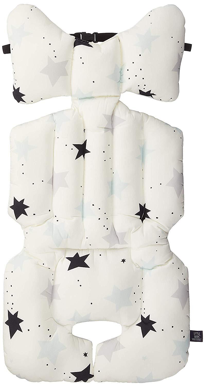 LITTLE SEEDS(リトルシード) ベビーカーシート twinkle star (blue) 2か月~