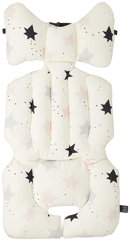 LITTLE SEEDS(リトルシード) ベビーカーシート twinkle star (pink) 2か月~